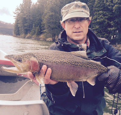 Hughes won the Northwest Outdoor Writer's fishing derby with this 24